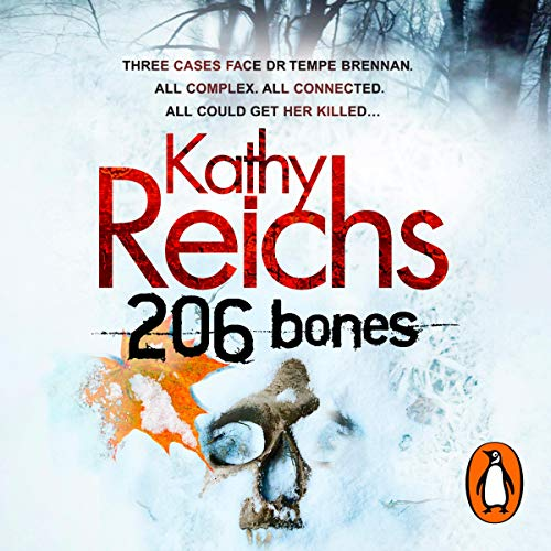 206 Bones                   By:                                                                                                                                 Kathy Reichs                               Narrated by:                                                                                                                                 Lorelei King                      Length: 9 hrs and 18 mins     10 ratings     Overall 4.5