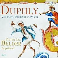 Jacques Duphly: Complete Pi猫ces de Clavecin by Pieter-Jan Belder