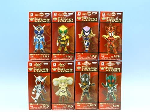 Rider series World Collectable Figures vol.16 (all eight Furukonpu set + Poster with bonus)