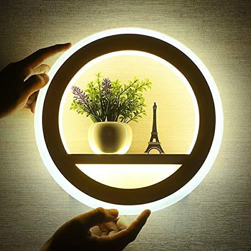 MJZHJD Personalidad lámpara de Pared Creativa de la lámpara de cabecera Arte Estudio Pasillo de Escalera lámpara de Pared Decorativo Luz de Pared
