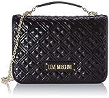 Love Moschino Jc4003pp1a, Borsa a Tracolla Donna, Nero (Nero), 13x25x34 cm (W x H x L)