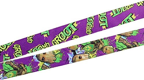 Guardians of The Galaxy Groot Lanyard with Breakaway Key Strap Photo #3