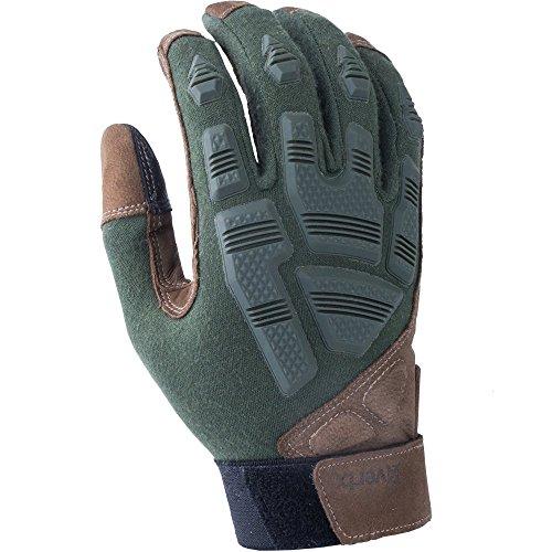 Vertx Fr Breacher Gloves, OD Green, Medium