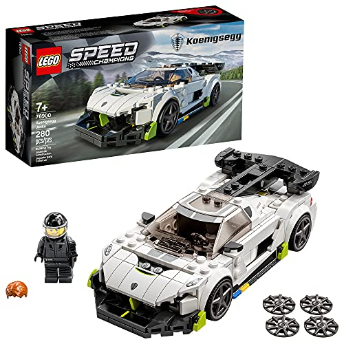 LEGO Speed Champions Koenigsegg Jesko 76900 Building Toy for Kids and Car Fans; New 2021 (280 Pieces)
