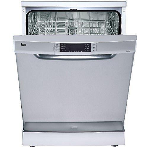 Teka LP9840autonome 13places A + + Spülmaschine–Geschirrspülmaschinen (autonome, Edelstahl, Full Size (60cm), Edelstahl, Knöpfe, 13Sitzer)