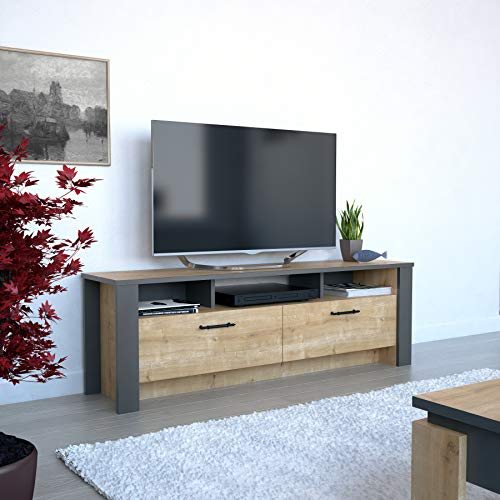 Decorotika Manhattan Modern TV Stand and Media Console up to 59'