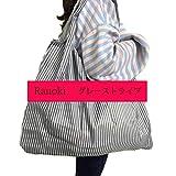 Ranoki エコバッグ 折りたたみ 買い物袋 防水素材 大容量 (HBD-012)