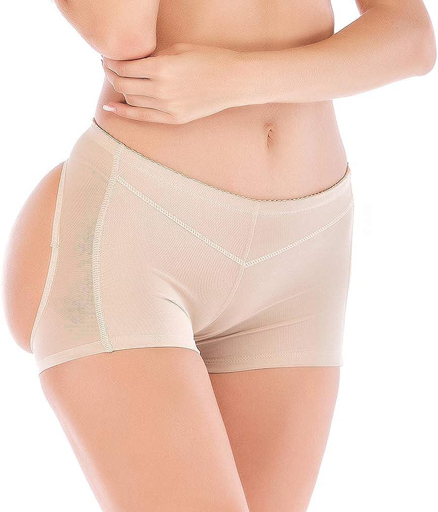 HOMETA Women Seamless Butt Lifter Underwear Body Shaper Tummy Control Panties Boyshorts