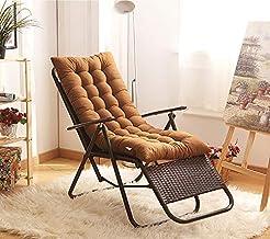 YLLN Recliner Cushion Seat Cushion Back Cushion Garden Chair Cushion High Back Cushion with Ties Chair Pads for Garden Cha...