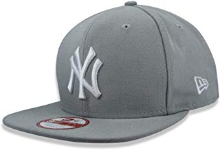 BONE 950 ORIGINAL FIT NEW YORK YANKEES MLB ABA RETA SNAPBACK CINZA NEW ERA