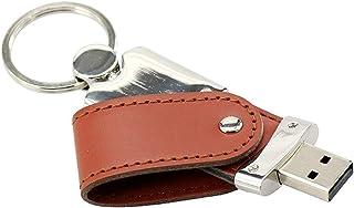 Memory Stick 256 GB braunes Leder USB 3.0 Thumb Drive Pen Drive Wasserdichtes Design USB Flash Laufwerk   Civetman