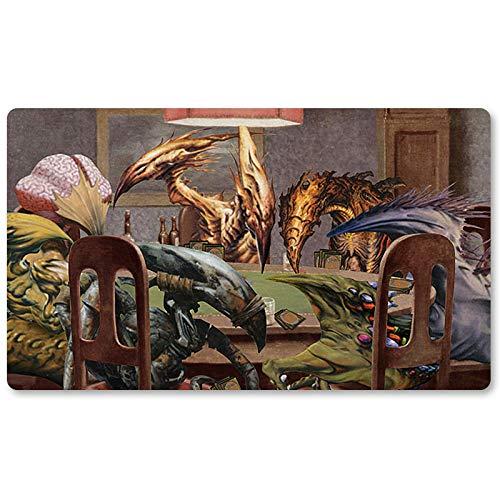Tapete de mesa para jugar al póquer, juego de mesa MTG, tamaño 60 x 35 cm, alfombrilla para ratón, para TCG Magic The Gathering