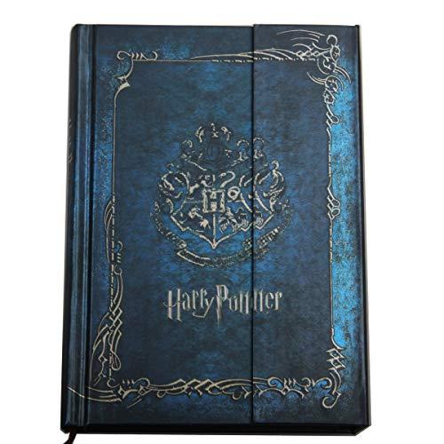 Harry Potter Agenda vintage avec couverture rigide et calendrier 2021–2022–2023 – Meilleur cadeau de Noël pour les fans de Harry Potter