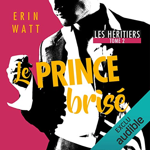 Le prince brisé audiobook cover art