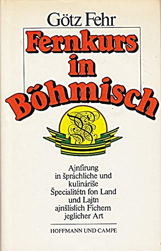 Fernkurs in Böhmisch