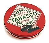 Tabasco - Spicy Dark Chocolate Wedges - Round Tin - 50g (Case of 12)