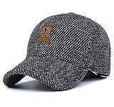 MRACSIY Cappellino Invernale da Uomo da 57-61 cm (Grigio)...