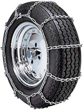 Security Chain Company QG1142 Quik Grip Type PL Passenger Vehicle Tire Traction Chain - Set of 2: image