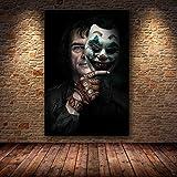 xingbu Rahmenlose Joaquin Phoenix Poster druckt Joker