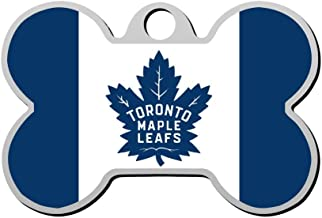 toronto maple leafs dog tag