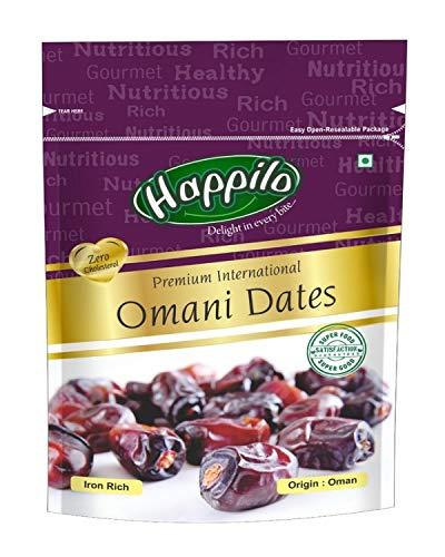 Happilo Premium International Omani Dates, 250g (Pack of 2)