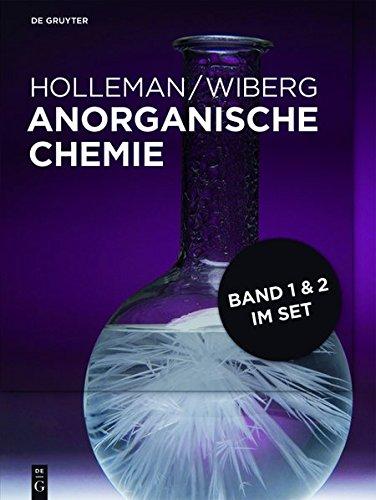 Holleman • Wiberg Anorganische Chemie: [Set Anorganische Chemie, Band 1+2]