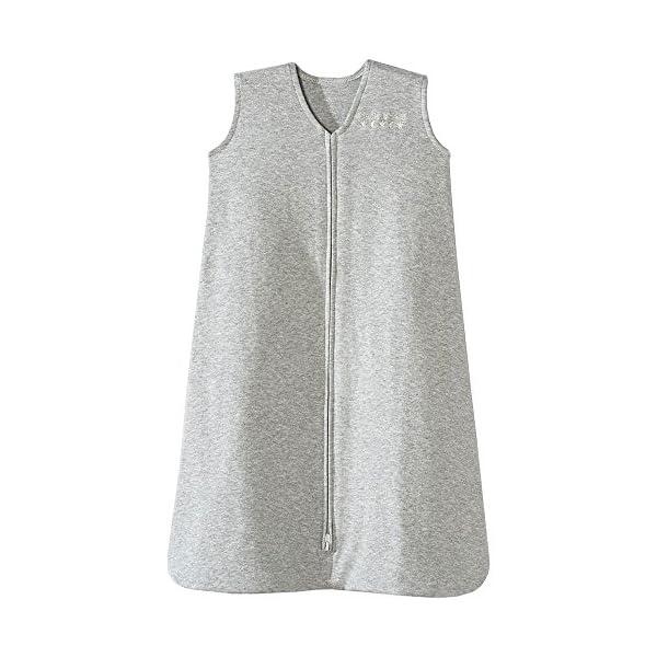 HALO Sleepsack 100% Cotton Wearable Blanket, Heather Grey, X-Large