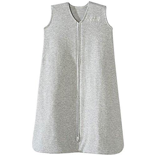 HALO Sleepsack 100% Cotton Wearable Blanket, Heather Grey, Large