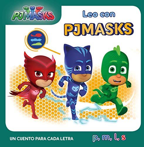 Un cuento para cada letra: p, m, l, s (Leo con PJ Masks