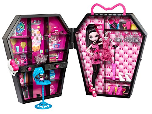 Mattel Monster High BGT61 - Draculocker und Puppe, inklusive Zubehör