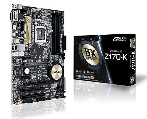 ASUS Z170-K - Placa Base (DDR4, Intel, ATX, SATA 600, USB 3.0)