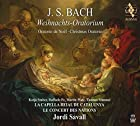 J.S.バッハ : クリスマス・オラトリオ BWV248 / ジョルディ・サヴァール、ラ・カペラ・レイアル・デ・カタルーニャ、ル・コンセール・デ・ナシオン (J.S.BACH : Weihnachts-Oratorium / Jordi Savall, La Capella Reial de Catalunya, Le Concert des Nations) [2SACD Hybrid] [Live]
