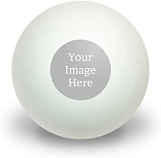 Graphics and More Self-EEZ(TM) Custom Personalized Novelty Table Tennis Ping Pong Ball 3 Pack