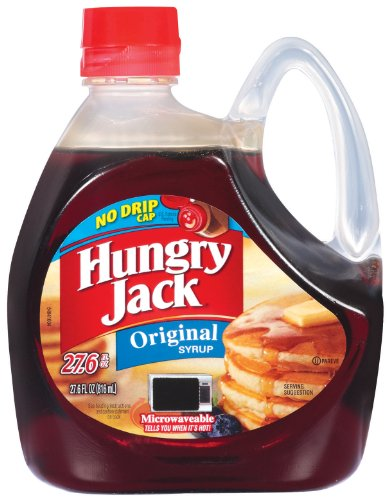 Hungry Jack Original Syrup, 27.6-Ounce (Pack of 6)