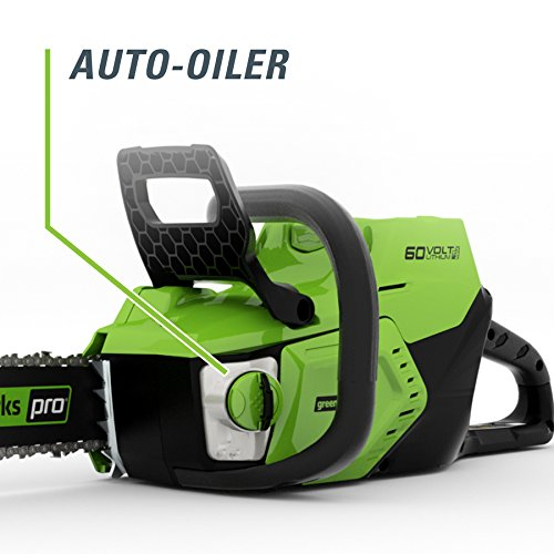 Greenworks Pro 60-volt Lithium Ion 16-in Brushless Cordless Electric Chainsaw (Chainsaw Only, Battery/charger Not Included)