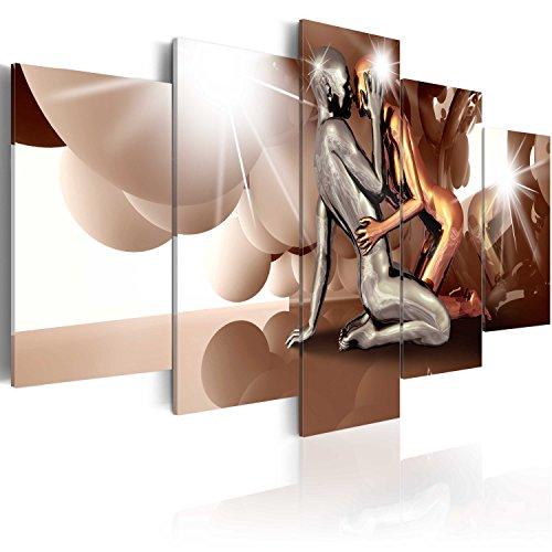 murando Quadro 200x100 cm 5 pezzi Stampa su tela in TNT XXL...