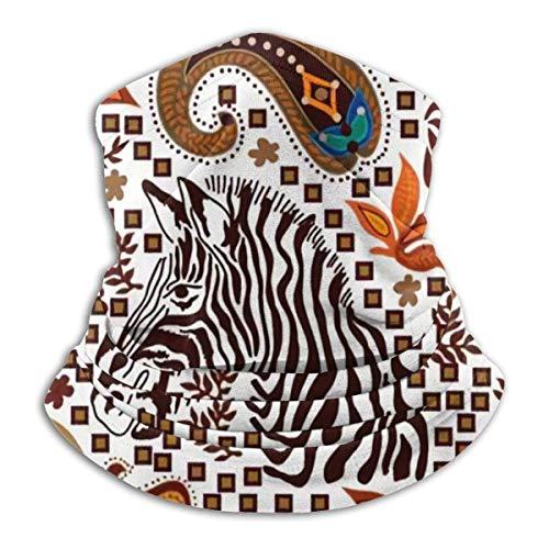 Any Way Halsmanschette, Ohrwärmer-Stirnband, Safari-Kollektion auf Weiß, Kopfbedeckung