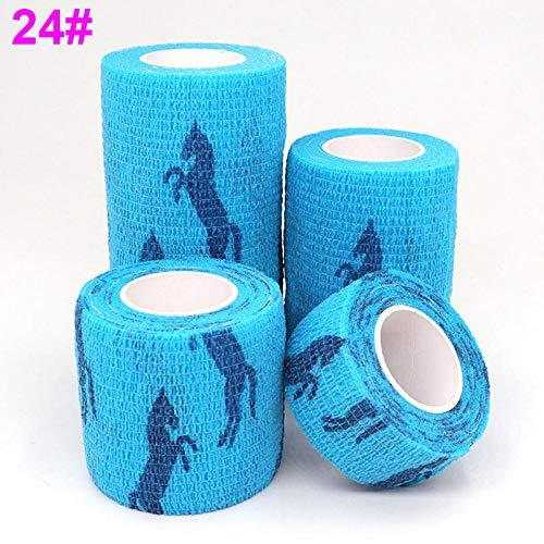 1 stks Elastische Band Elastoplast 4.5m Sport Kleurrijke Zelfklevende Wrap Tape voor vingergewricht Knie Pet