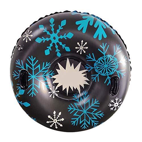 HappyL Juguete De Esquí De Kickboard Involable Involable con Mango Durable Snow Tube Esquí Engrosado Flotabuen Ski Ski Ring (Color : Blue)