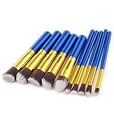ZhangC Ceja cosmética Brocha Fundación Cara Rubor en Polvo de Cejas lápiz delineador de Cepillo cosméticos Mezcla (Color : 3)