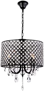 XUHUI Decorative Lamps Crystal Chandelier Modern Luxury Ceiling Light Pendant Light for Dining Rooms Living Room Bedroom C...