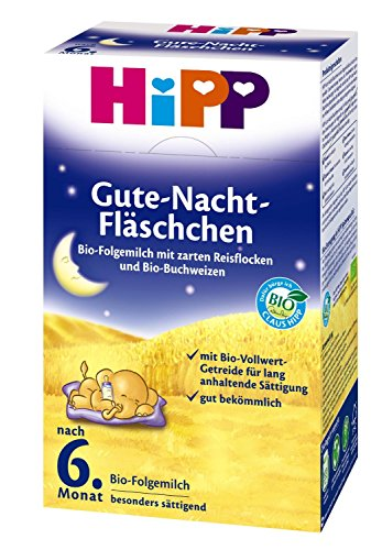 Hipp Bio Goodnight-flesjes, na de 6e maand, 2-pack (2 x 500 g)
