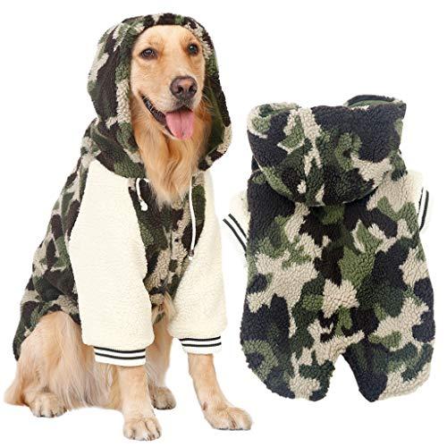 QNJM Ropa De Camuflaje para Perros Grandes Labrador Samoyedo Husky ...
