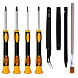 XBRdepot Repair Tool Kit Screwdrivers for PS4 PS5, T9 T8 Torx Security Phillips PH00 PH1 for Sony Playstation PS4, PS Vita, PS3, PS4 Slim, PS4 Pro,PSP (Screwdrivers Kits for PS4)