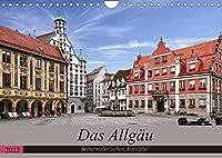 Das Allgaeu - Seine malerischen Altstaedte (Wandkalender 2022 DIN A4 quer): Die malerischen Altstaedte des Allgaeu (Monatskalender, 14 Seiten )