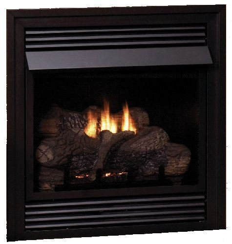 Fantastic Prices! Empire Comfort Systems Vail Vent-Free LP Premium 36,000 BTU Fireplace w/LS30RS Log...