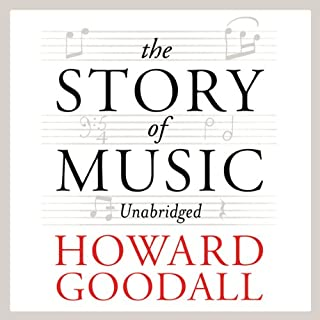 The Story of Music audiobook cover art