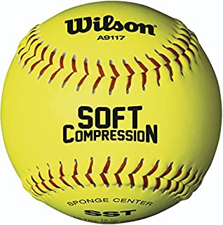 Wilson A9117 Soft Compression Softball (12-Pack)