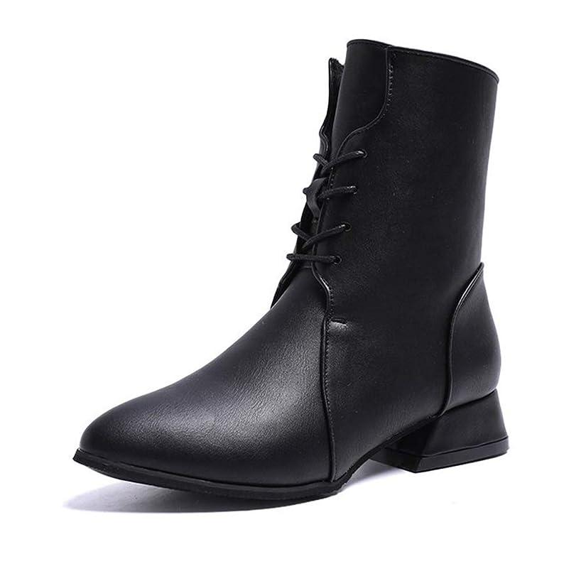 湿地章結婚[QIFENGDIANZ]レディースブーツ マーティン?ブーツ 小帯 大きいサイズ 歩きやすい 秋冬靴 防寒 防滑 つま先丸い 厚底 ヒール ショートブーツ 美脚 かわいい 通学 通勤 アウトドア 黒 ブラウン