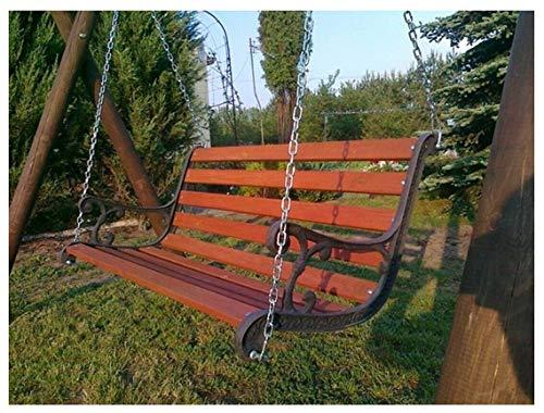 Naka24 Details zu Gartenschaukel Hollywoodschaukel Massivholz Kiefer (03010 160 cm Gusseisen)